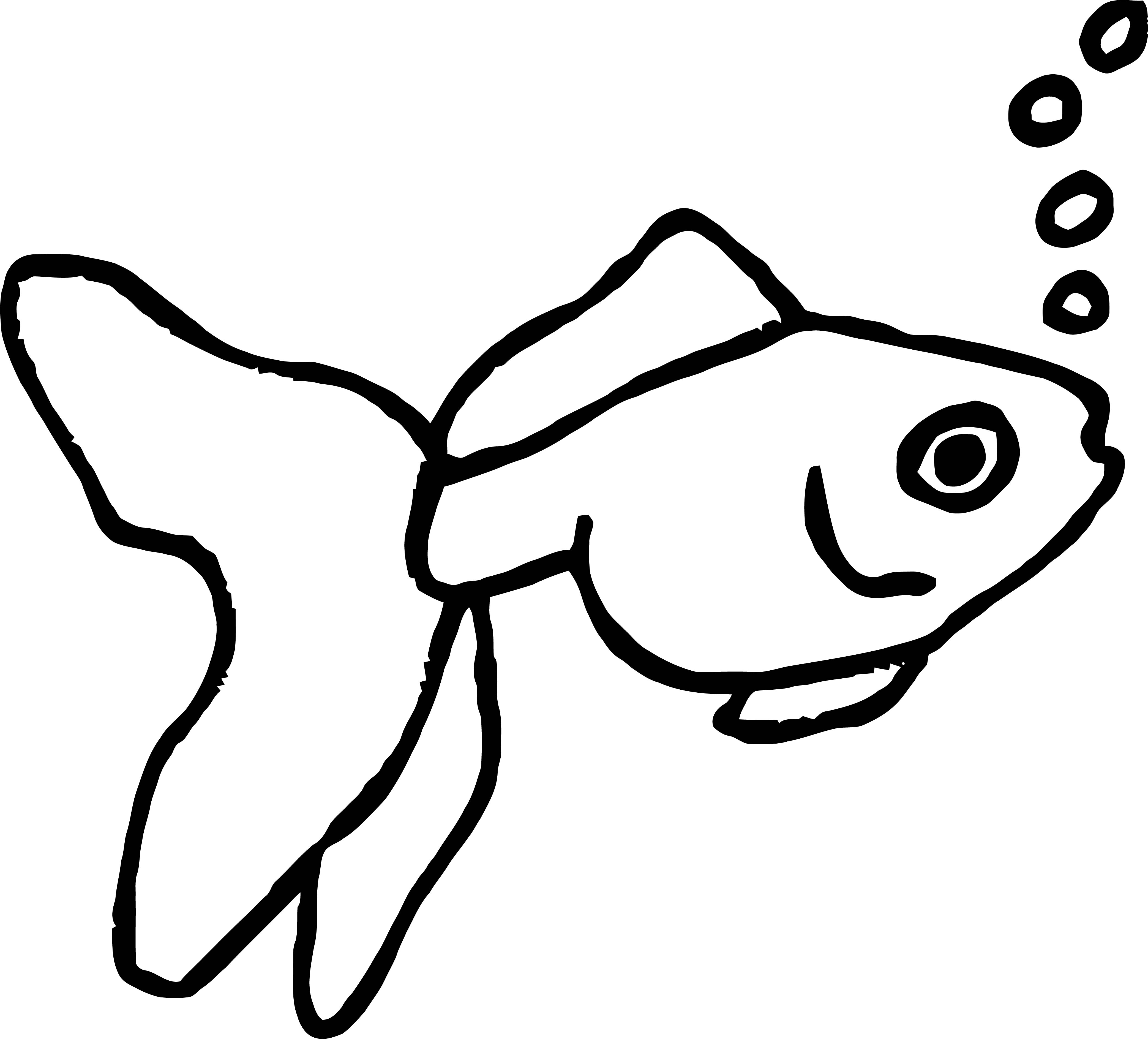 Fish Coloring Page Wecoloringpage 053