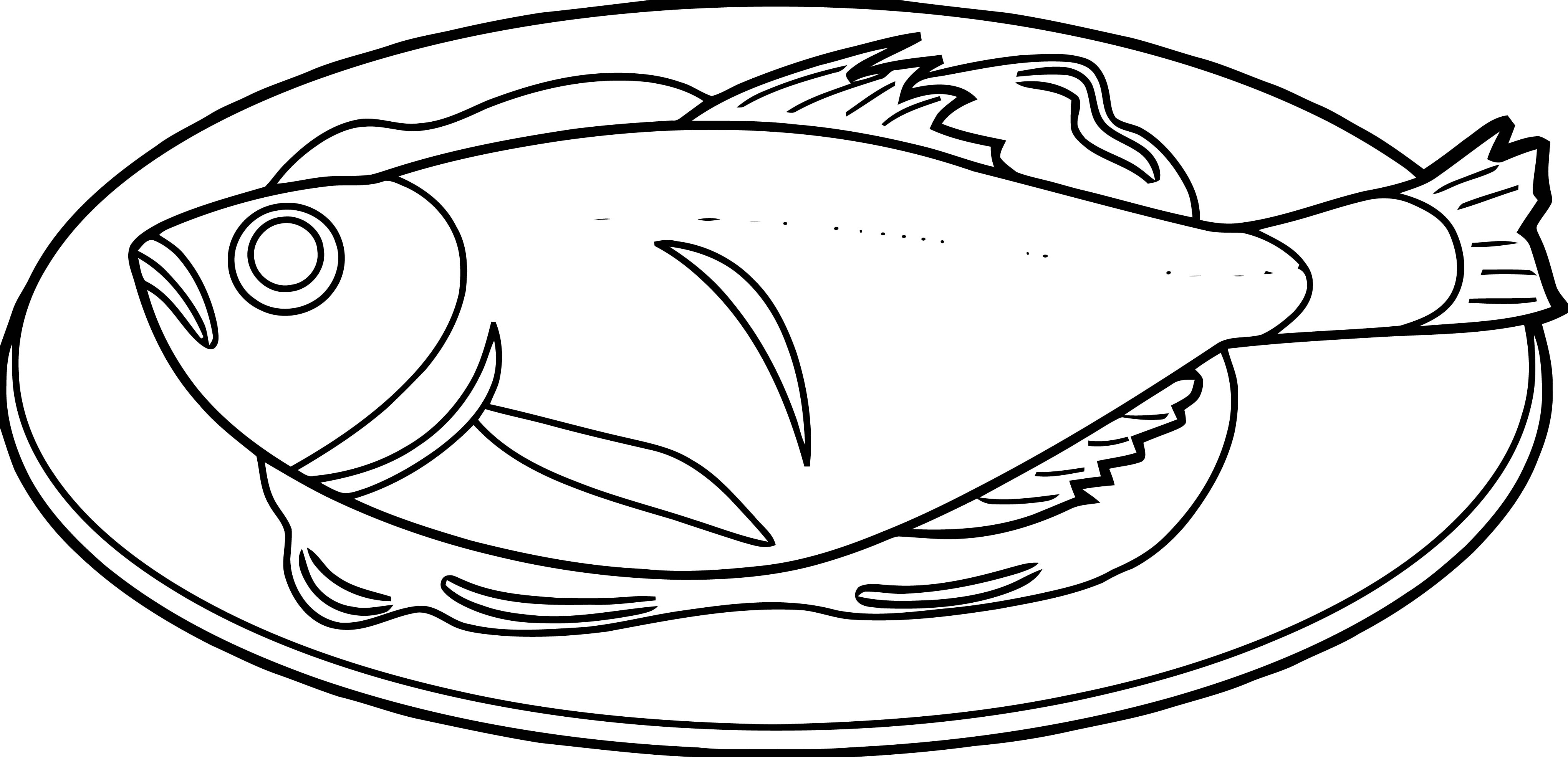 Fish Coloring Page Wecoloringpage 054