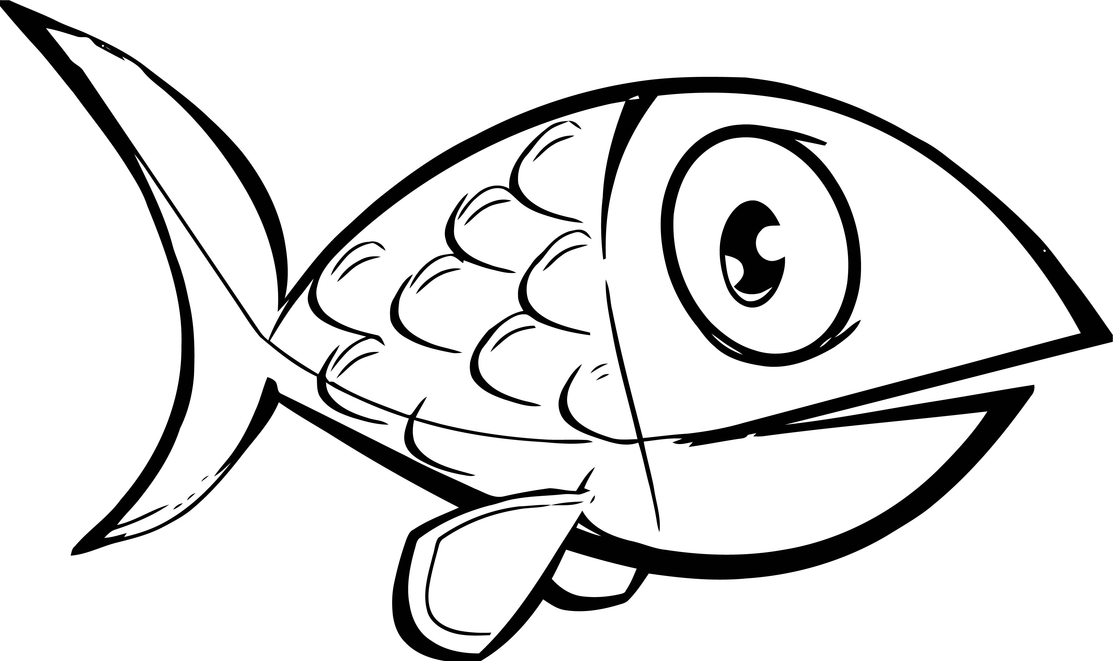 Fish Coloring Page Wecoloringpage 061