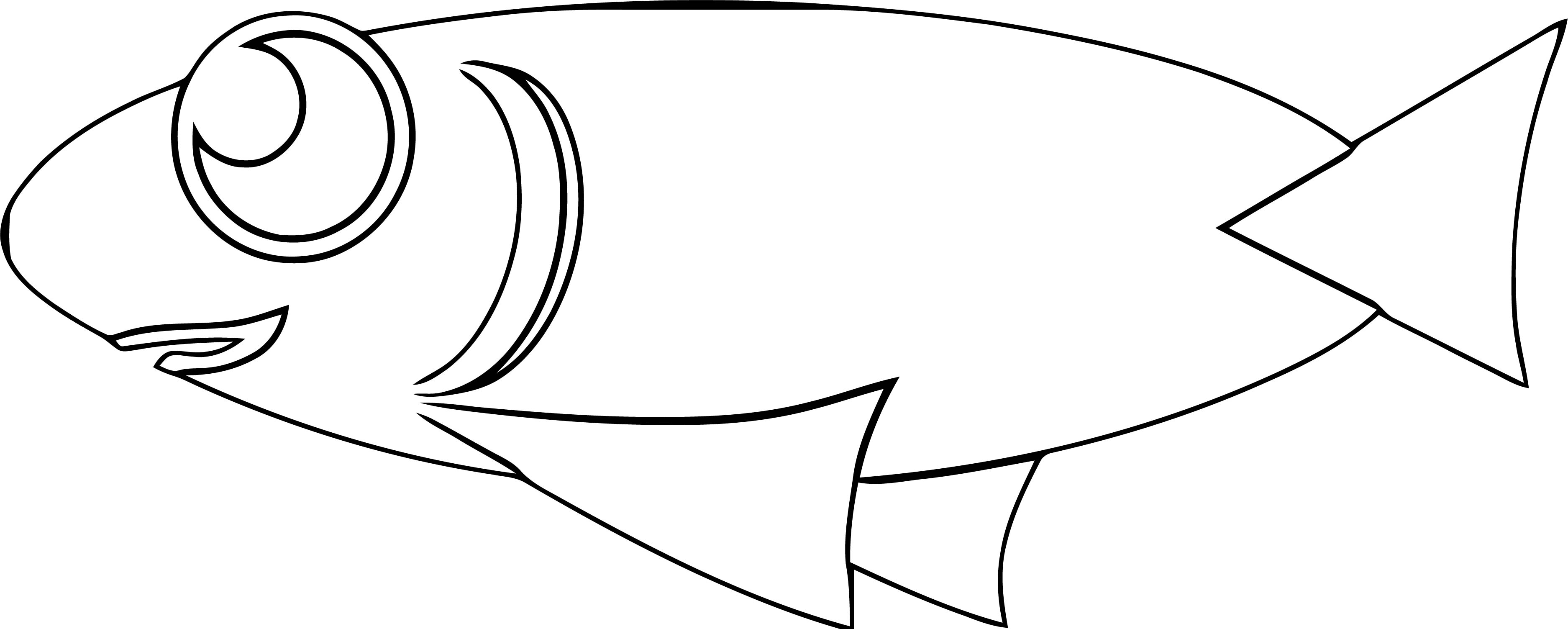 Fish Coloring Page Wecoloringpage 063
