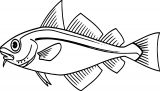 Fish Coloring Page Wecoloringpage 065