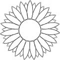 Flower Happy Star We Coloring Page