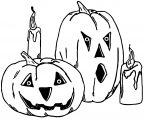 Free Halloween Halloween Coloring Page