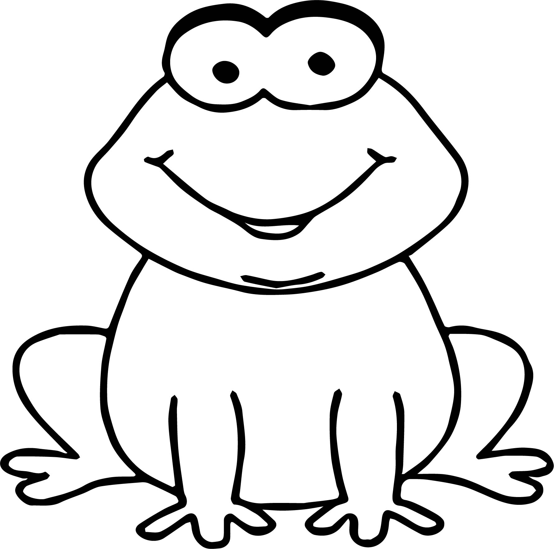 Frog Coloring Page 063