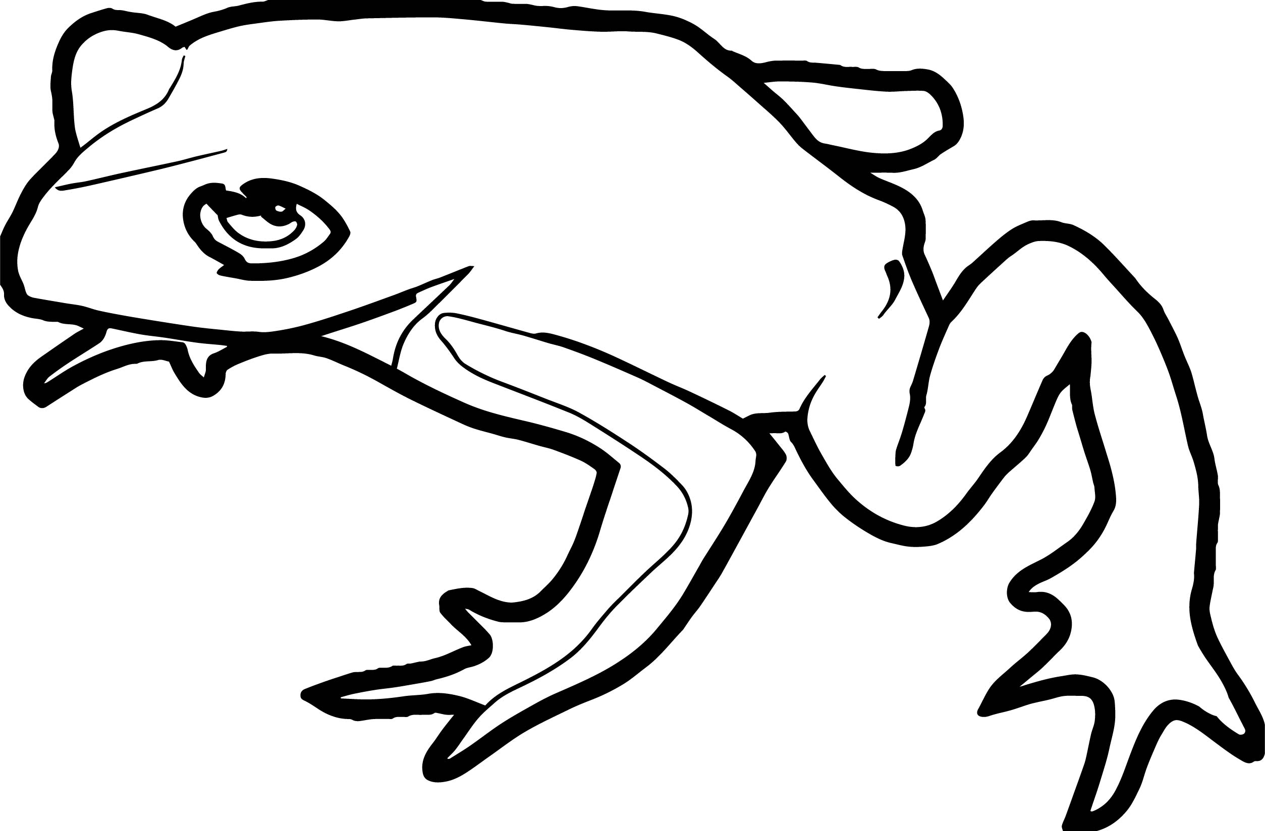 Frog Coloring Page 077