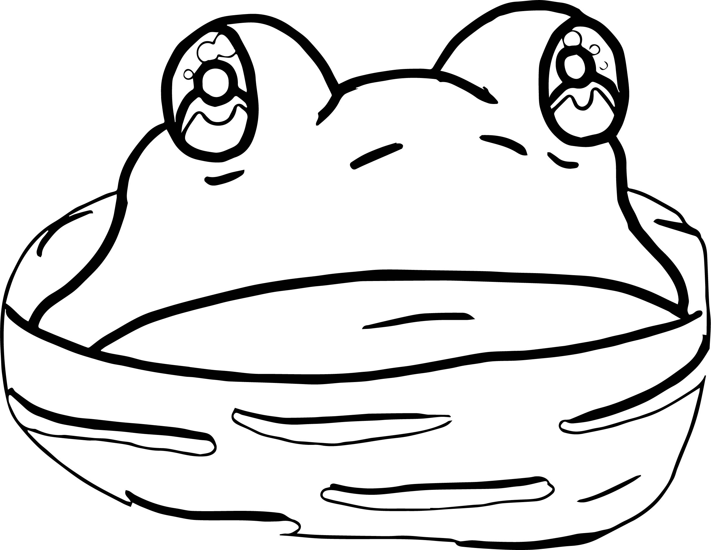 Frog Coloring Page 100
