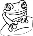 Frog Coloring Page 103
