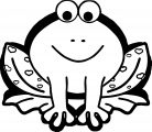 Frog Coloring Page 130