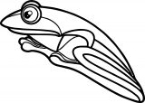 Frog Coloring Page 131