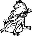 Frog Coloring Page 148