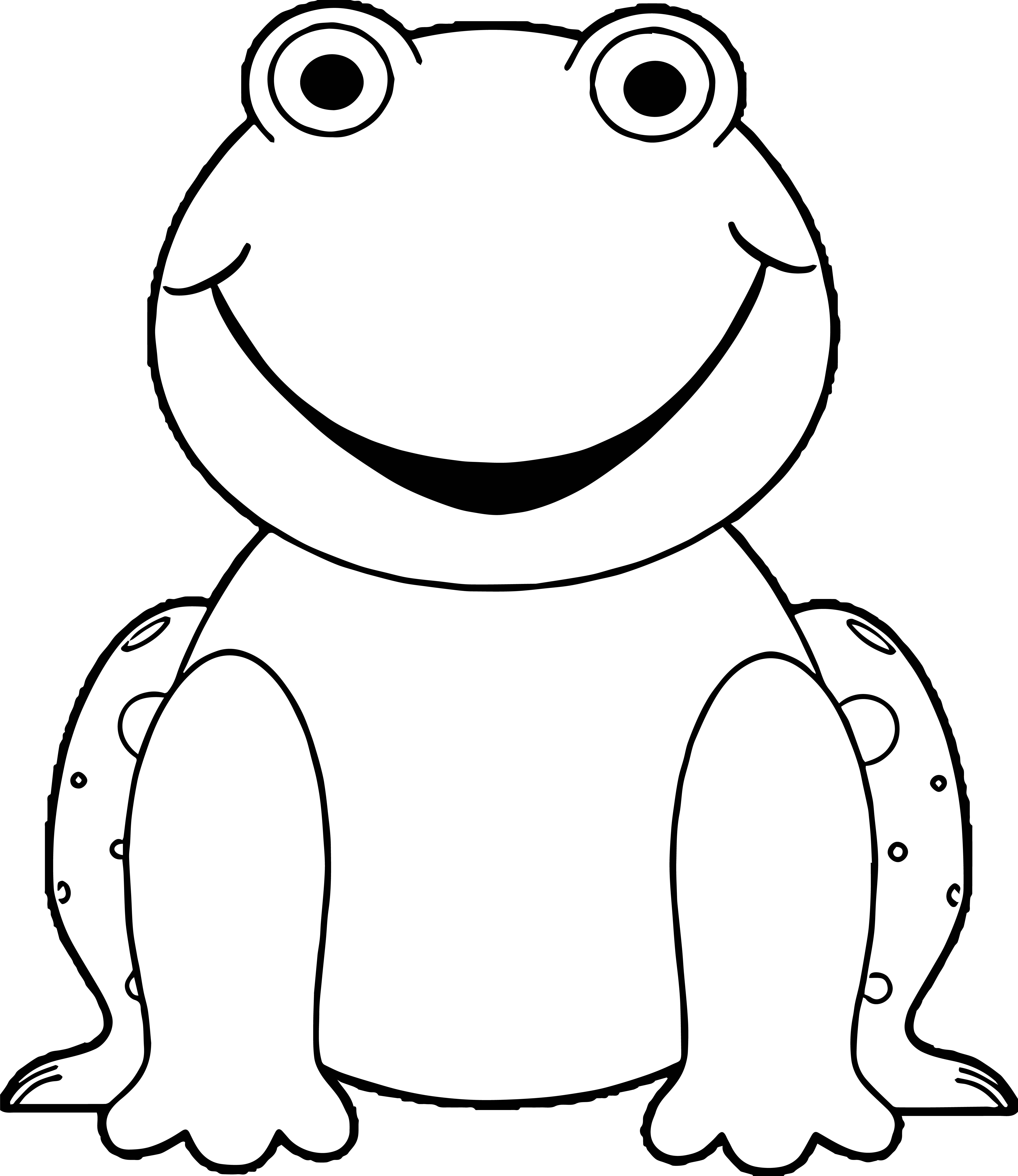 Frog Coloring Page 149