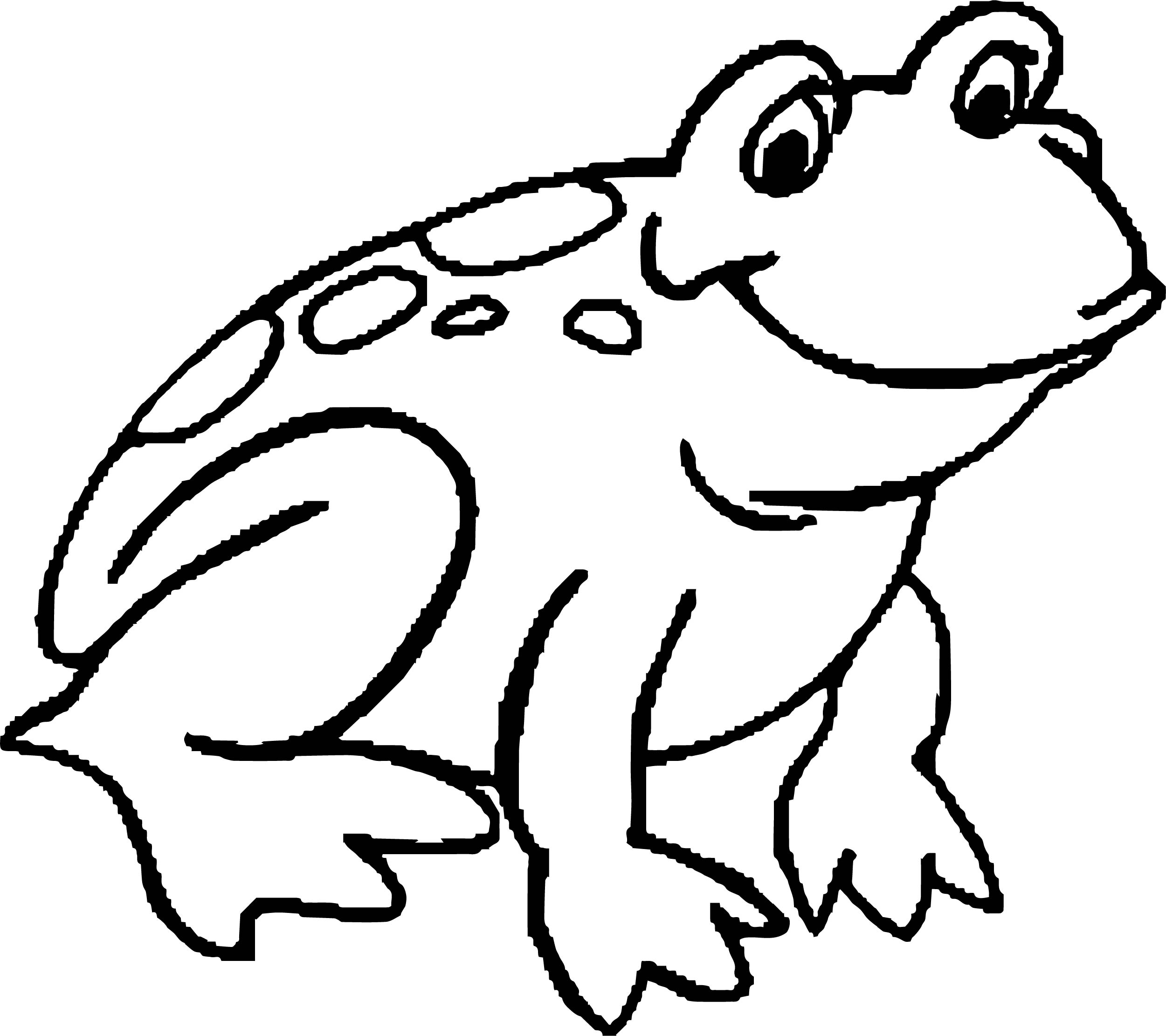 Frog Coloring Page 171