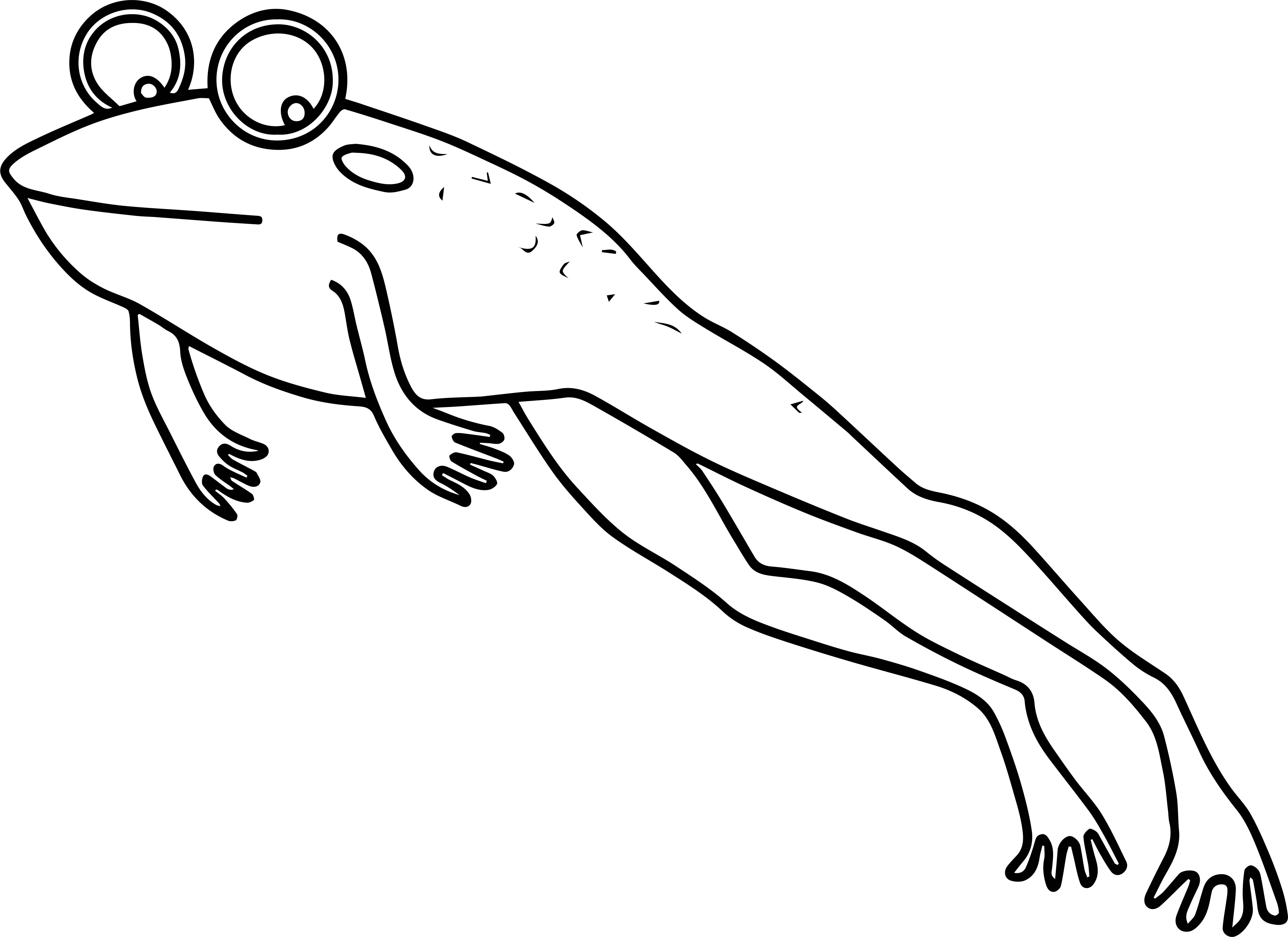 Frog Coloring Page 182