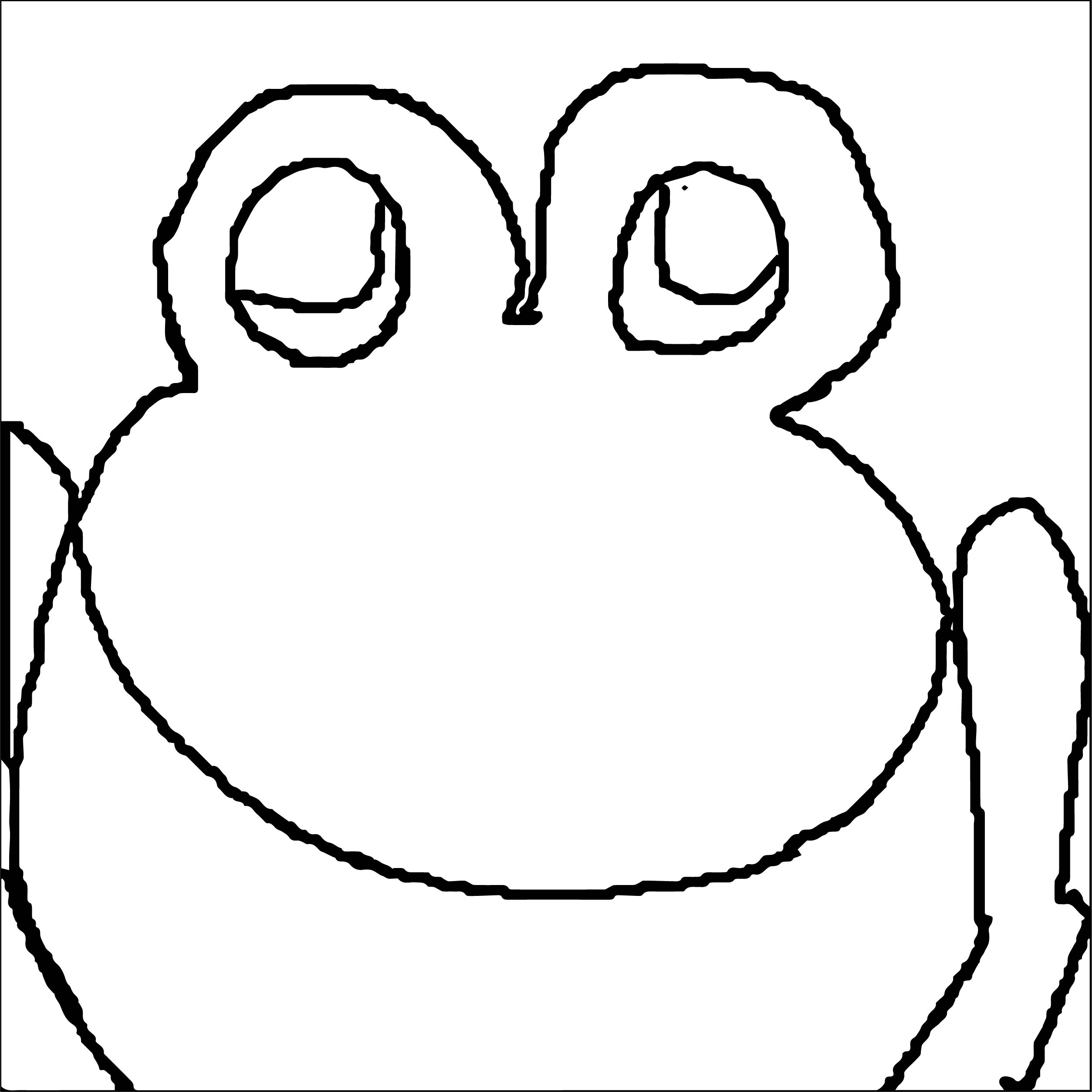 Frog Coloring Page 196