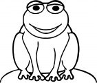 Frog Coloring Page 208