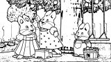 Garden Apple Max And Ruby Family Coloring Page