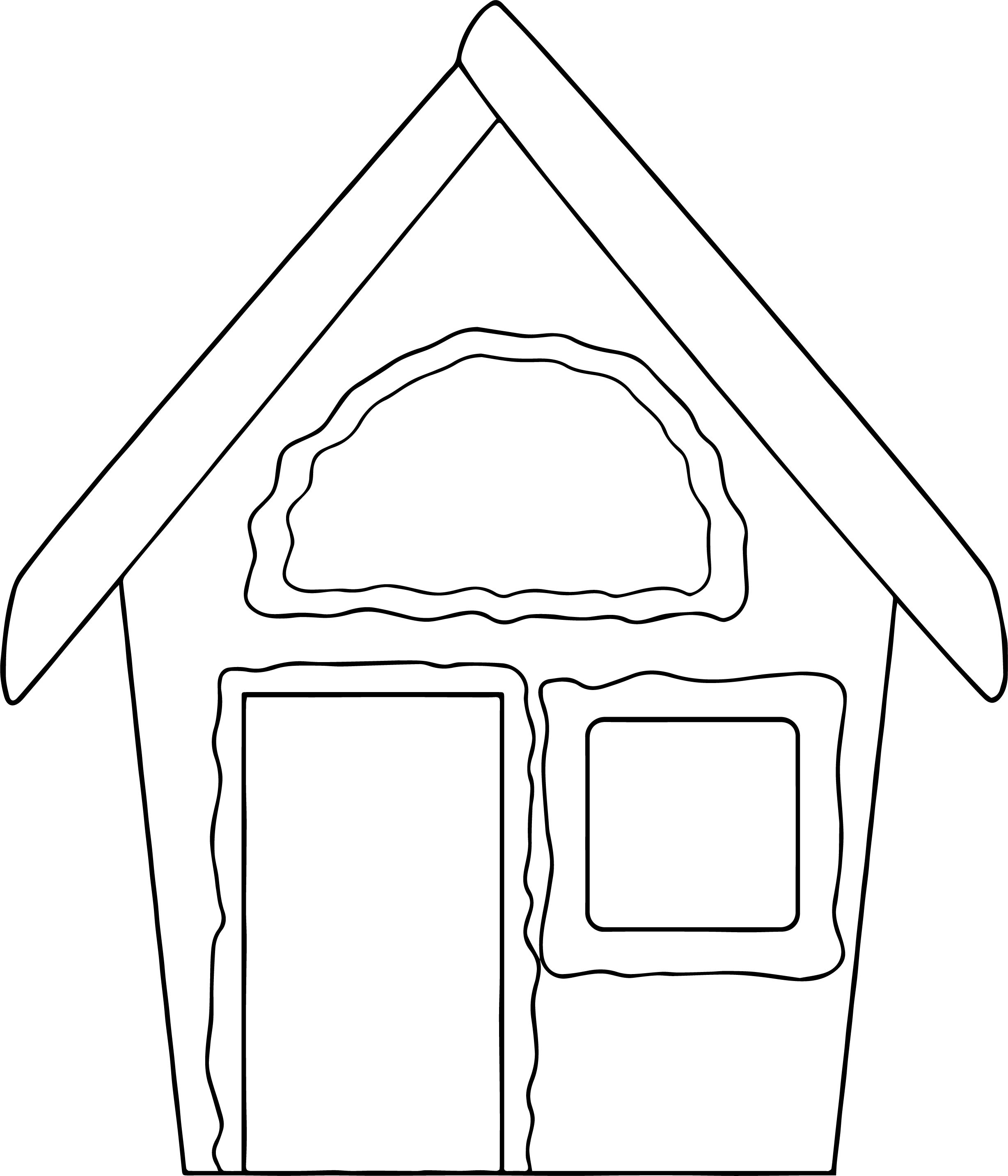 Gingerbread Coloring Page 37