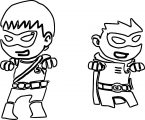 Giphy Teen Titans Go Coloring Page