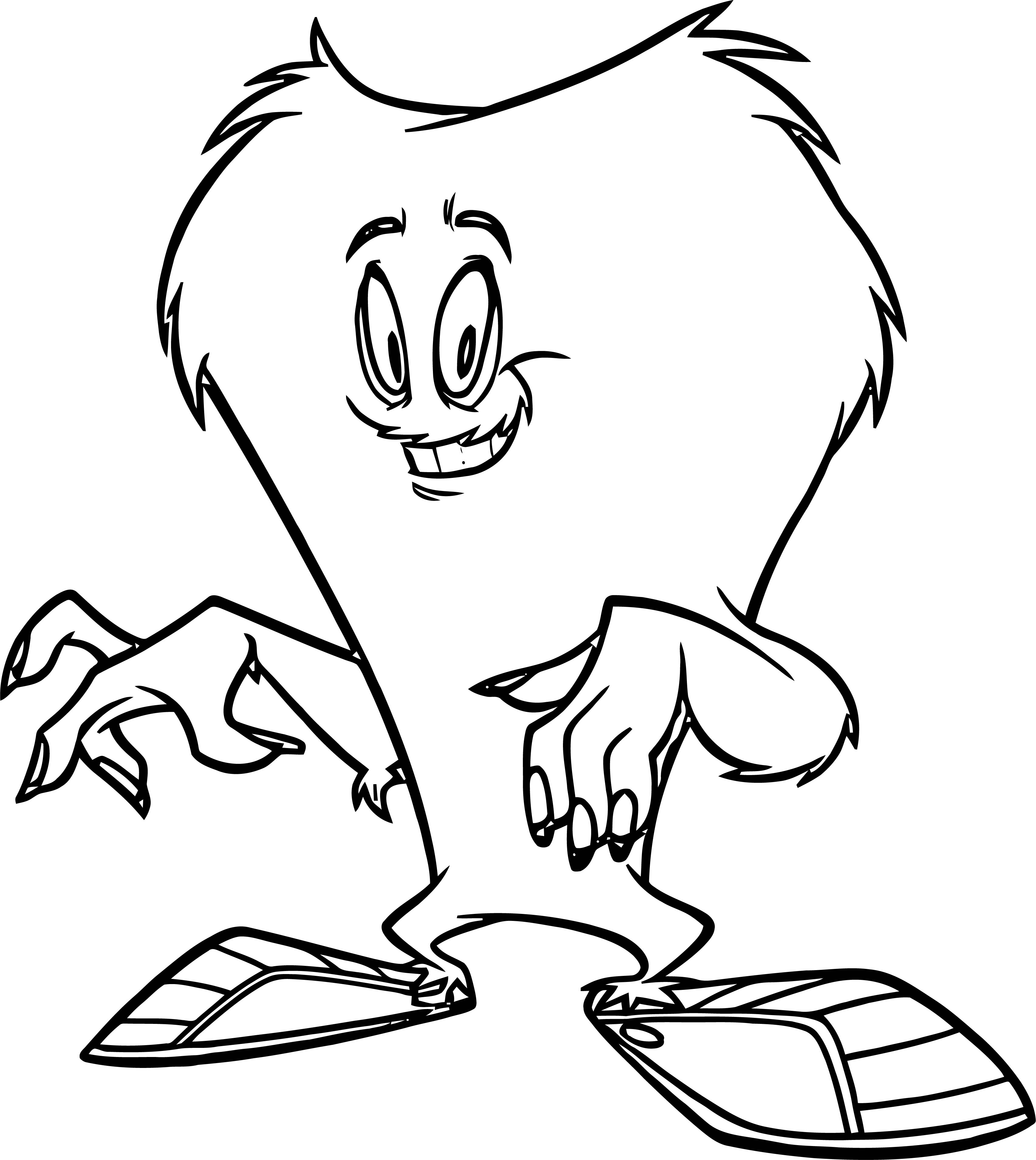 looney tunes halloween coloring pages - photo#22