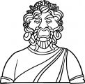 Greece Greek Coloring Page WeColoringPage 18