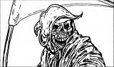Grip Reaper Free Halloween Coloring Page