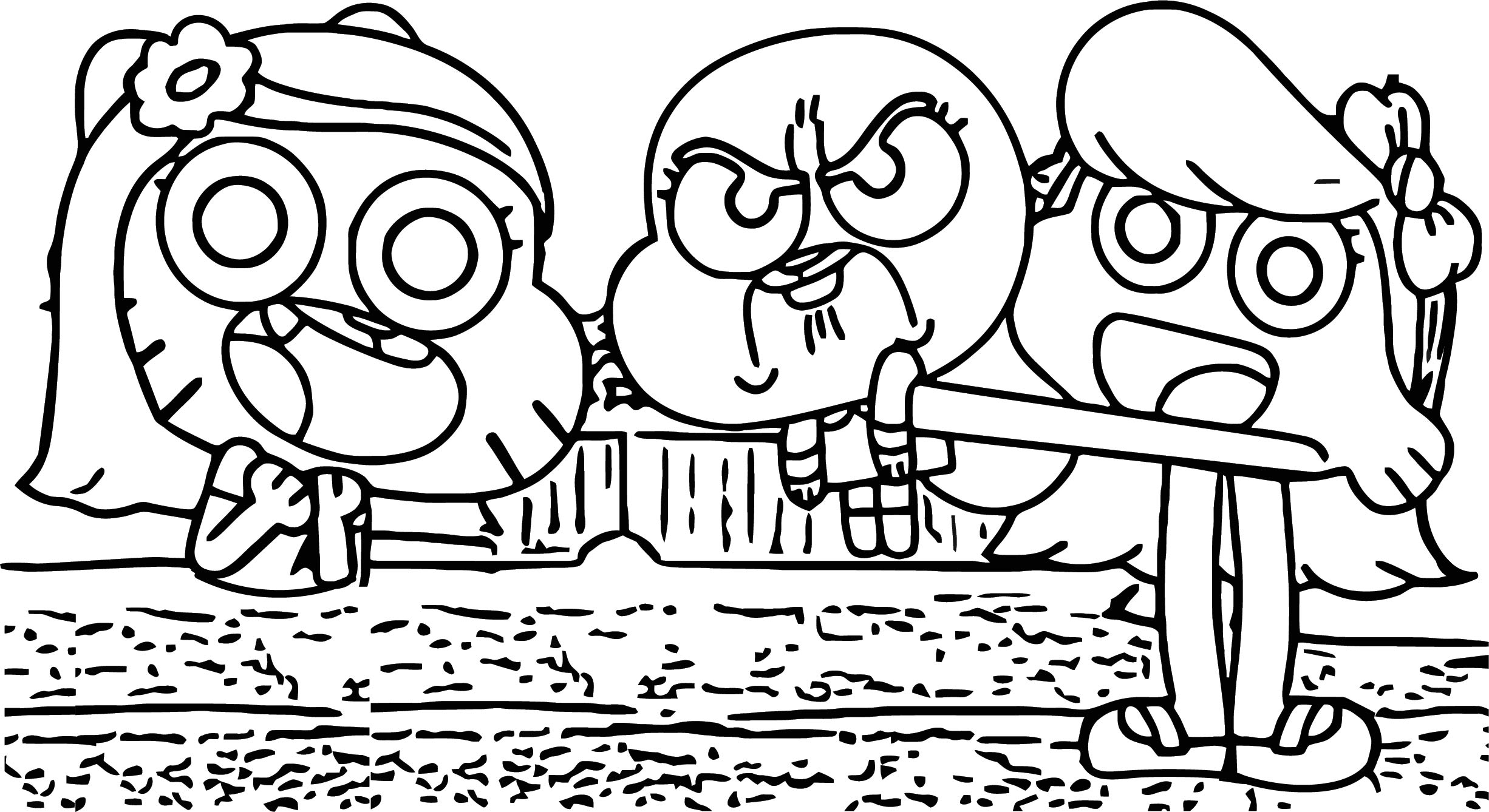 Gumball Darwin This My Baby Coloring Page