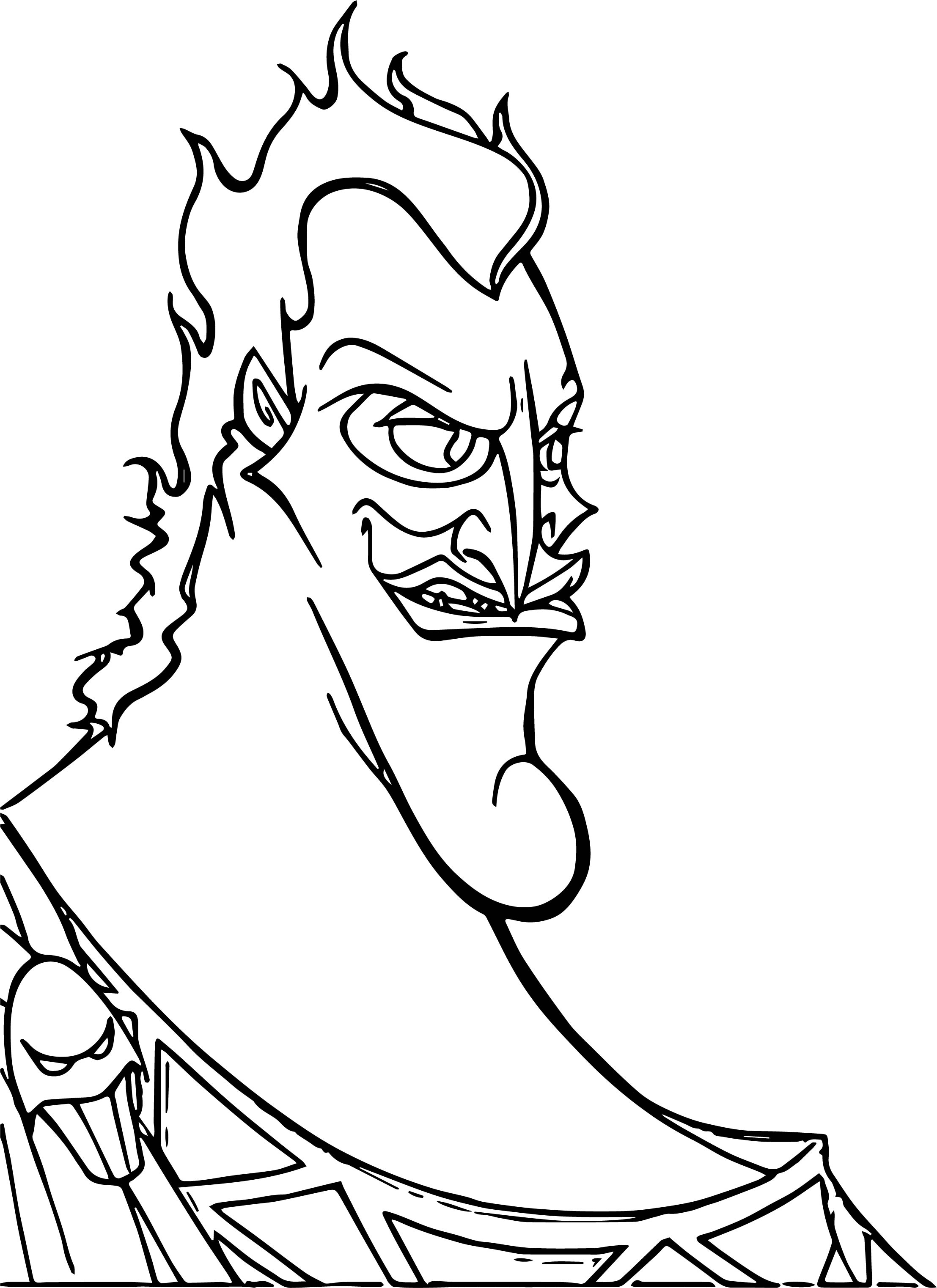 Hades Bad Coloring Pages