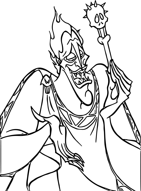 Hades Sucker Coloring Pages