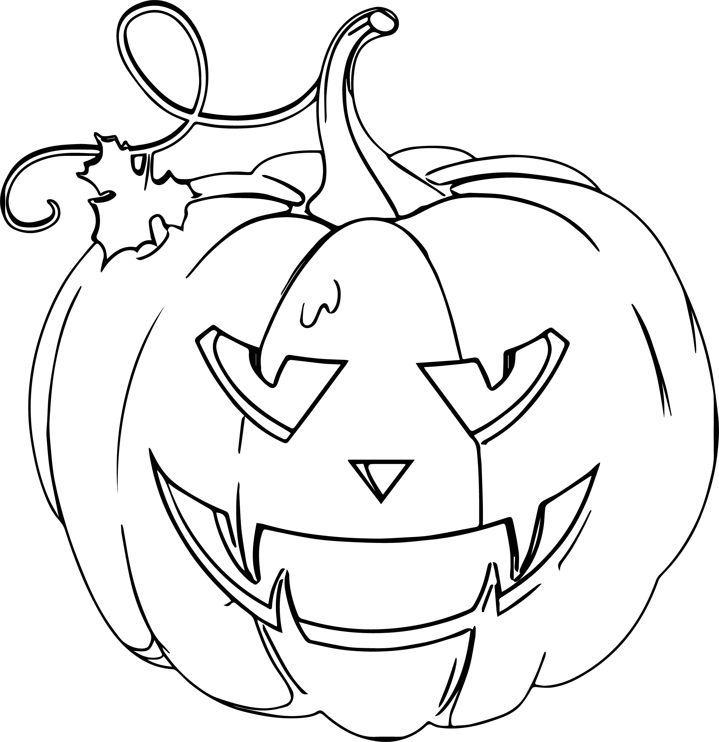 Halloween Coloring Page WeColoringPage 031