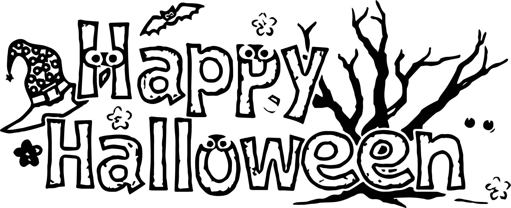 Halloween Emma Coloring Page