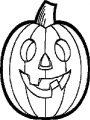 Halloween Pumpkin Pixel Coloring Page