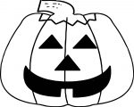 Halloween Pumpkin Time Coloring Page