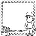 Handy Manny Coloring Page 01