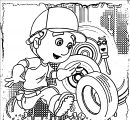 Handy Manny Coloring Page 06