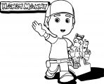 Handy Manny Coloring Page 07