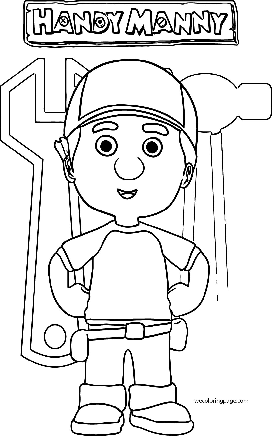 Handy Manny Coloring Page 22