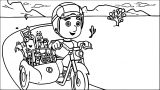 Handy Manny Coloring Page 25