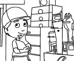 Handy Manny Dress Up Coloring Page