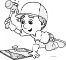 Handy Manny Handy Manny Coloring Page