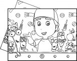 Handy Manny Plas Coloring Page