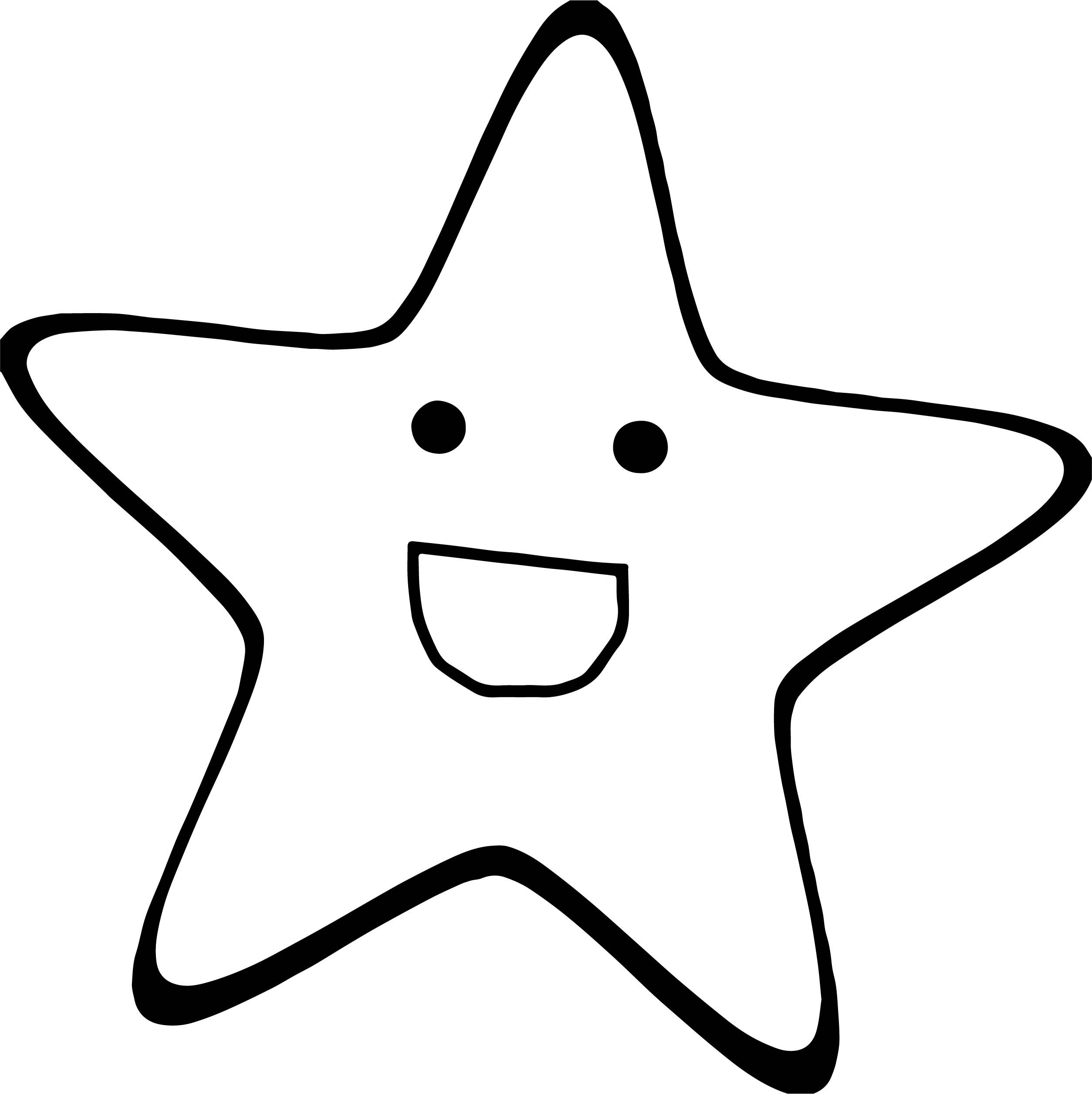 Happy Star We Coloring Page 38