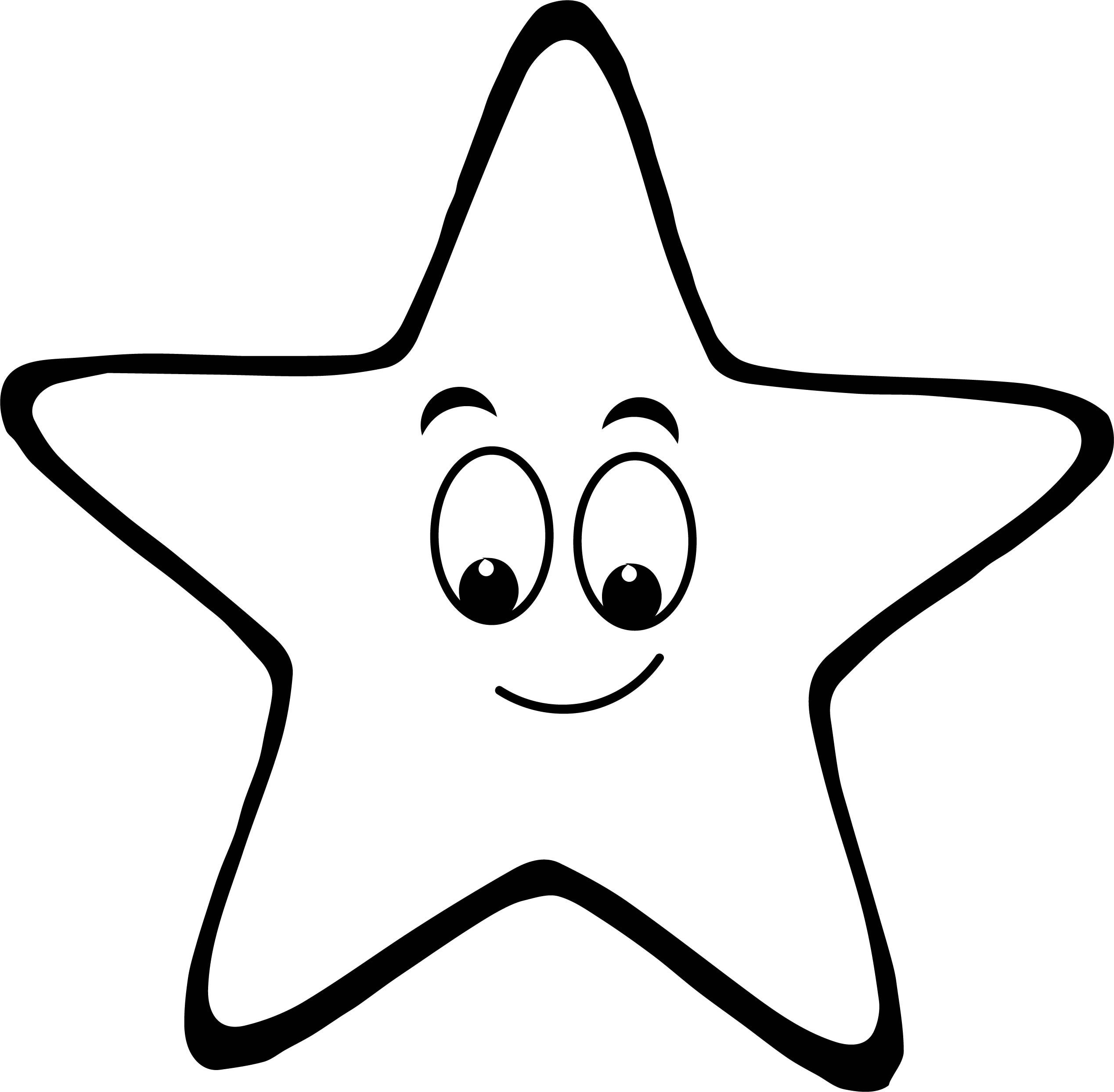 Happy Star We Coloring Page 39