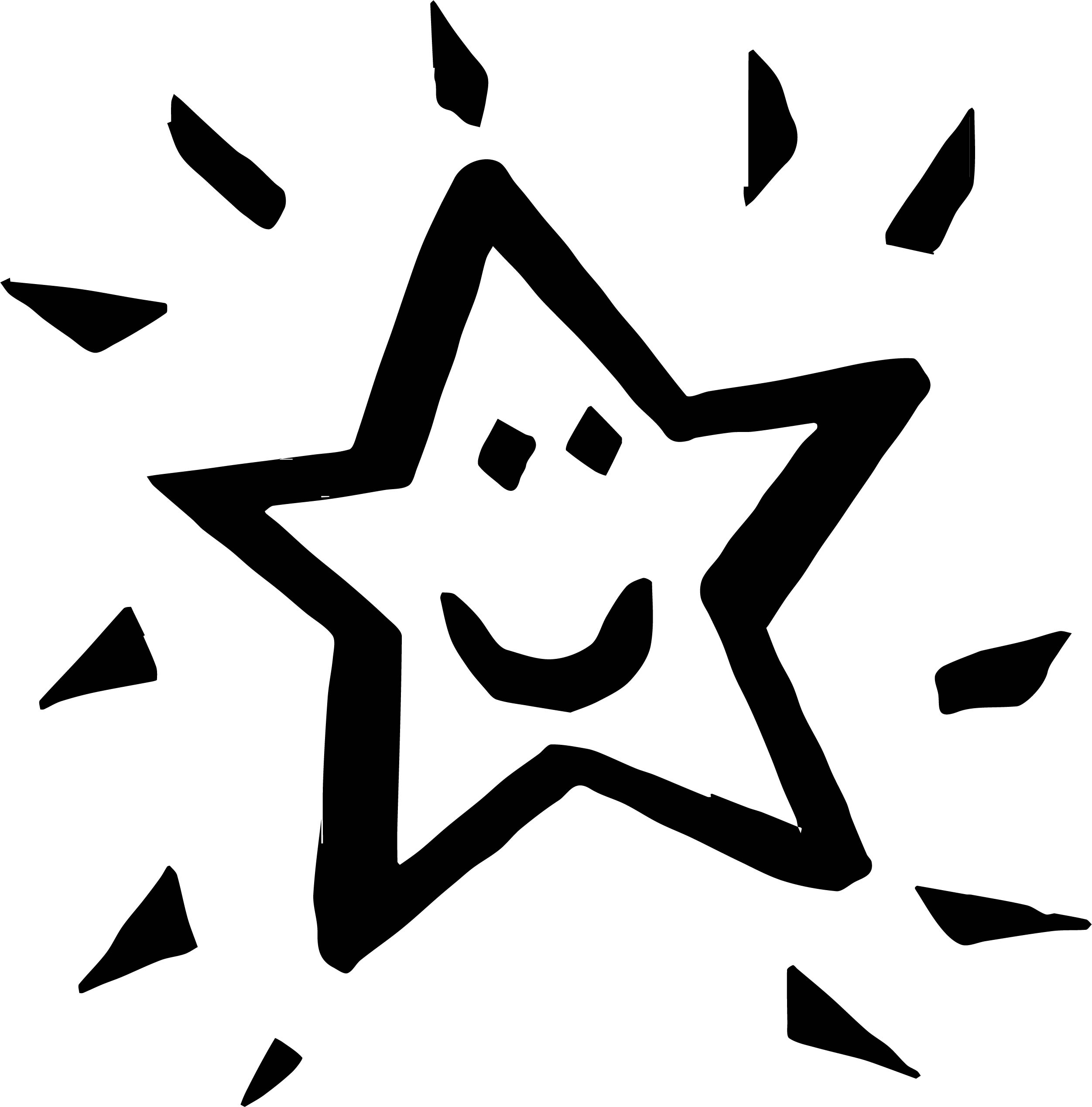 Happy Star We Coloring Page 45