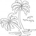 Hawaiian Tree Coloring Page WeColoringPage 5