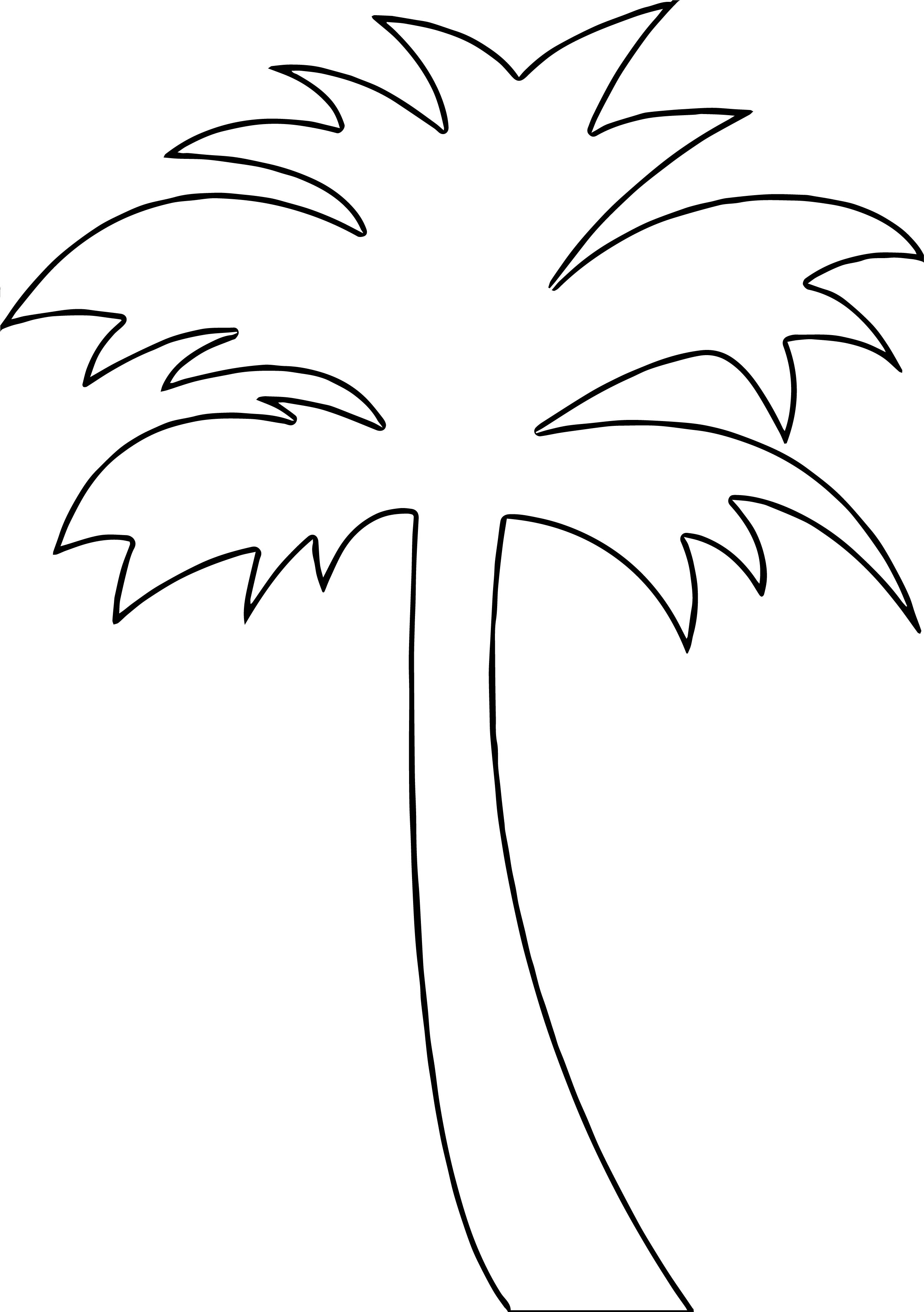 Hawaiian Tree Coloring Page WeColoringPage 6