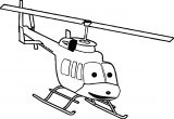 Helicopter Coloring Page 02