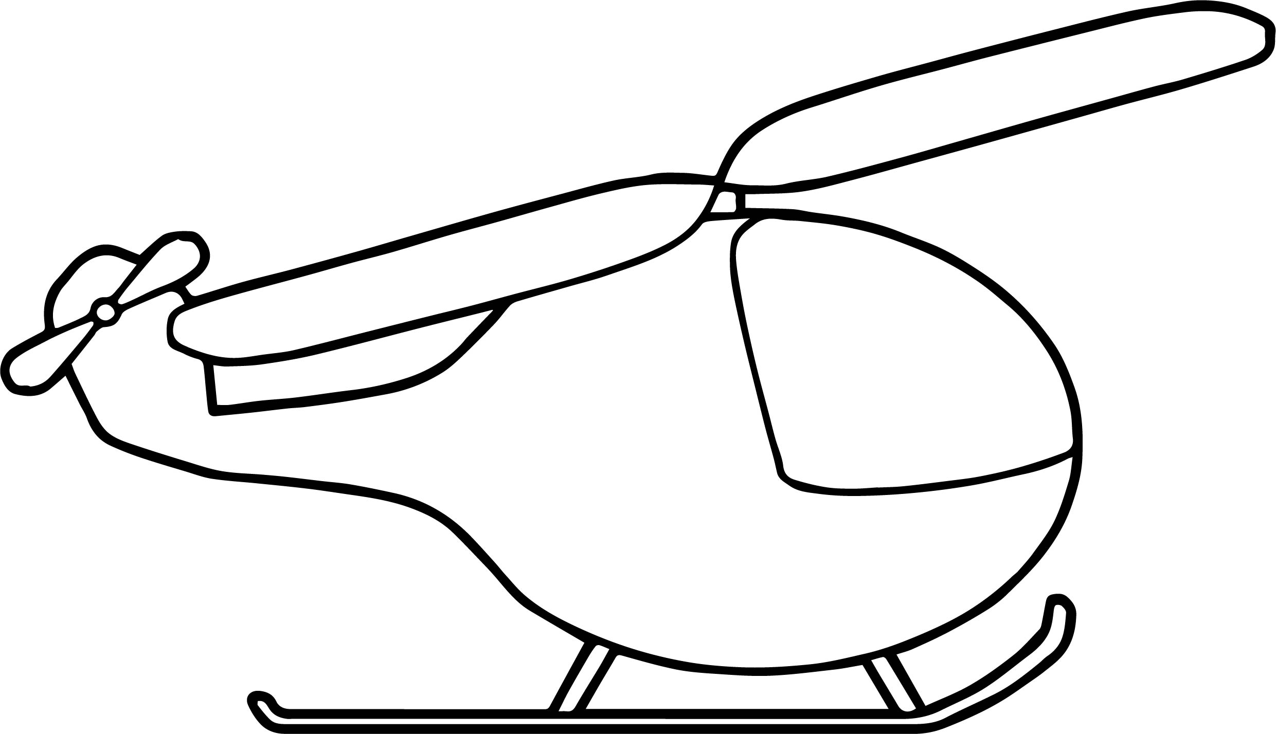 Helicopter Coloring Page 17