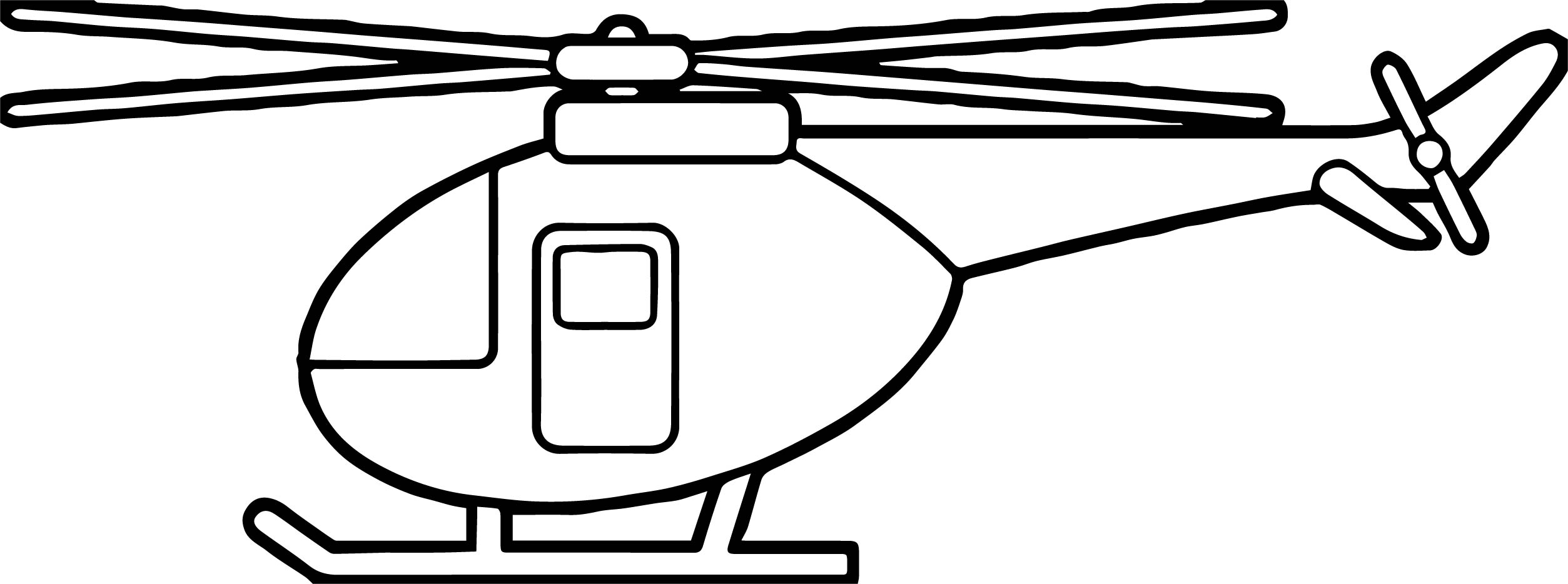 Helicopter Coloring Page 22