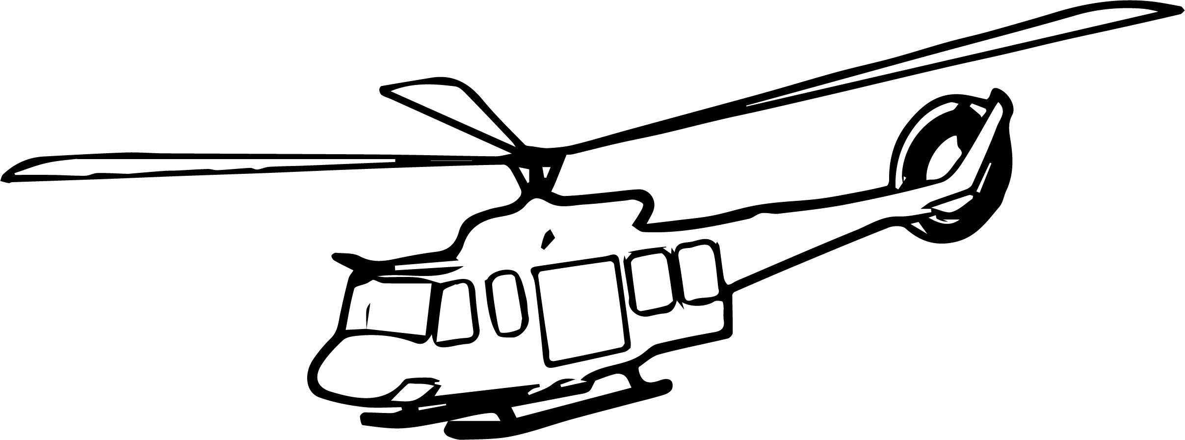 Helicopter Coloring Page 30