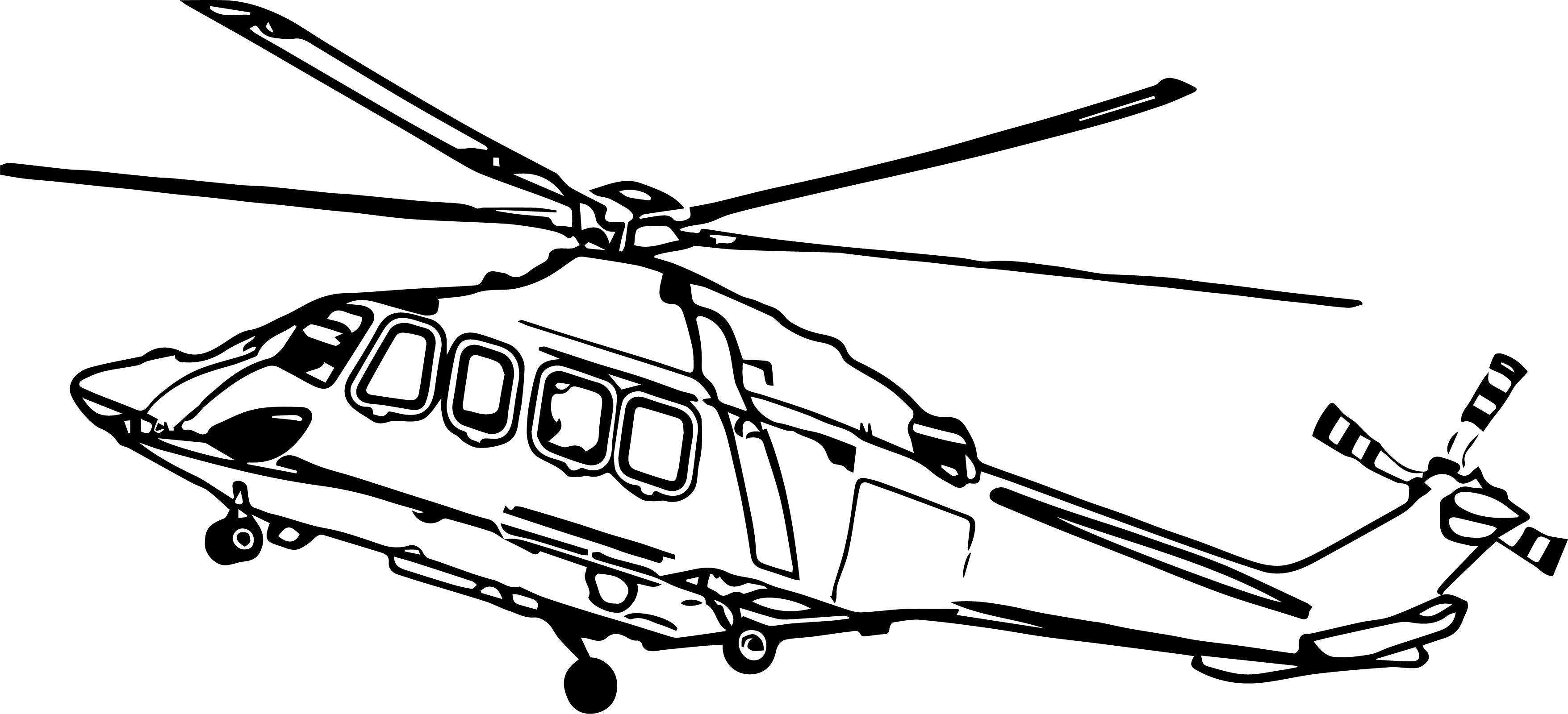 Helicopter Coloring Page 31